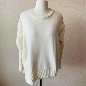 ALLSAINTS Asymmetrical Sweater Sz XS Jumper Top